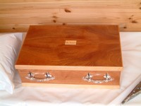 pet coffin or pet casket