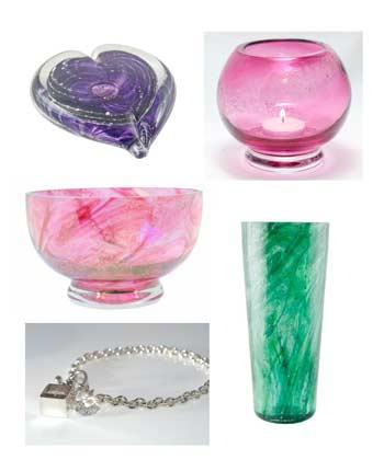 Eternity Crystal Glass Memorials